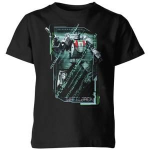 T-shirt Transformers Wheeljack Tech - Noir - Enfants