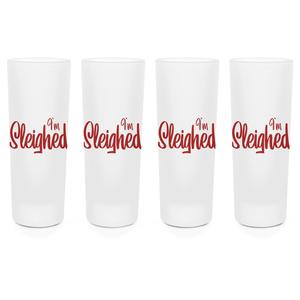 I'm Sleighed Shot Glasses - Set of 4