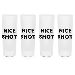 Nice Shot Shot Glasses - Set of 4