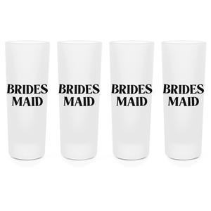 Bridesmaid Shot Glasses - Set of 4