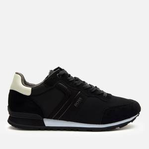 BOSS Business Men's Parkour Running Style Trainers - Black