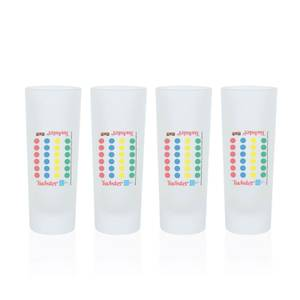 Twister Shot Glasses - Set of 4