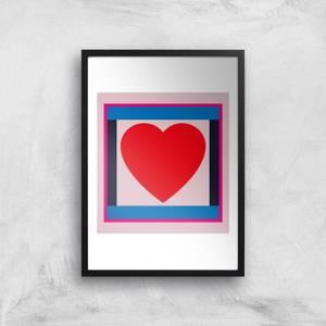 Big Heart Giclee Art Print