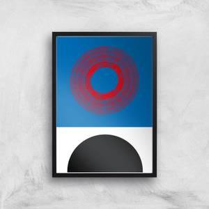 Circles Giclee Art Print