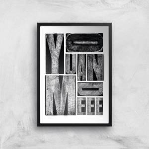 You And Me Giclee Art Print