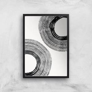 Rough Circles Giclee Art Print