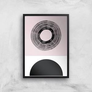 Abstract Sun Giclee Art Print