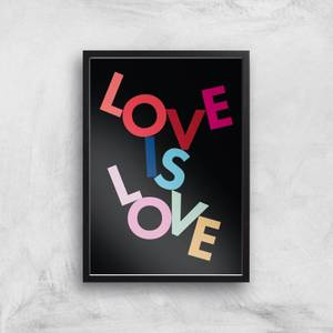 Love Is Love Giclee Art Print