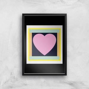 Big Heart Too Giclee Art Print