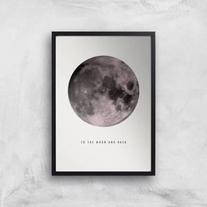 Moon And Back Giclee Art Print