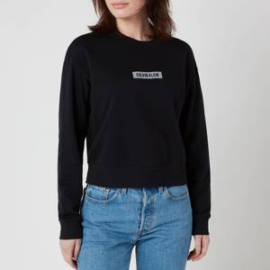 Calvin Klein Performance Women's Logo Pullover - CK Black