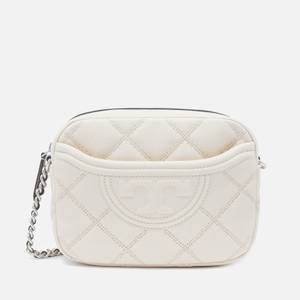 Tory Burch Women's Fleming Soft Textured Camera Bag - New Cream