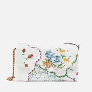Tory Burch Women's Kira Mixed Floral Chain Wallet - Afternoon Tea