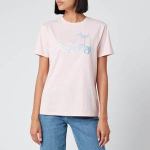 Coach 1941 Women's Chinese Collective Logo T-Shirt - Pink
