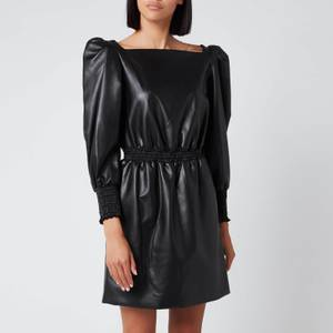 Philosophy di Lorenzo Serafini Women's Faux Leather Dress - Black