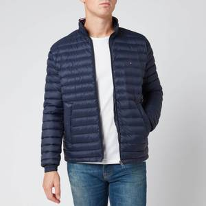 Tommy Hilfiger Men's Packable Down Jacket - Sky Captain