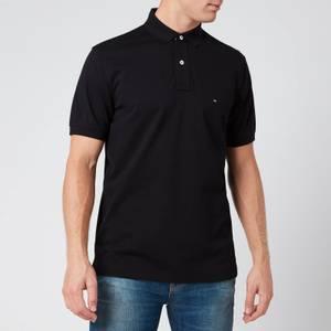 Tommy Hilfiger Men's Regular Fit Polo Shirt - Flag Black