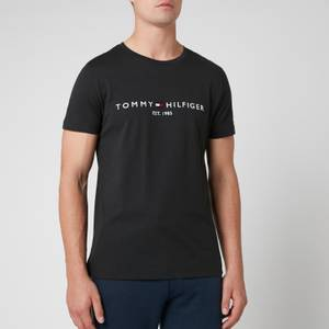Tommy Hilfiger Men's Tommy Logo T-Shirt - Jet Black