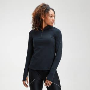 MP Women's Velocity 1/4 Zip Top- Black