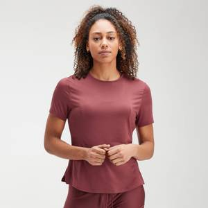 MP Velocity Short Sleeve Top til kvinder – Claret
