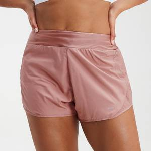 MP Women's Velocity Double Layered Shorts- Washed Pink