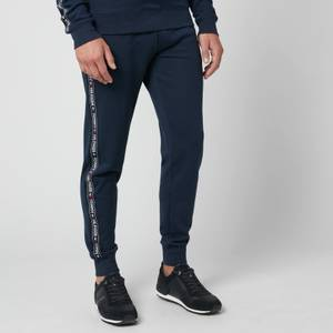 Tommy Hilfiger Men's Logo Tape Track Pants - Navy Blazer
