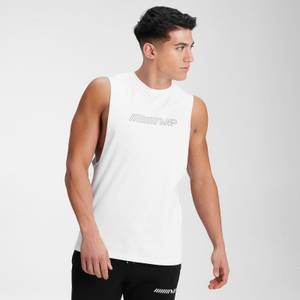 MP Men's Outline Graphic Tank - White