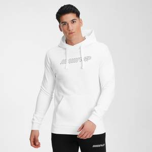 MP Men's Outline Graphic Hoodie - White