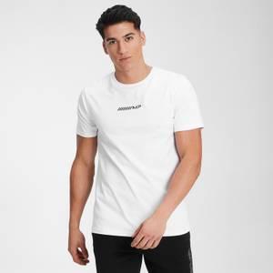 MP メンズ コントラスト グラフィック Tシャツ - ホワイト