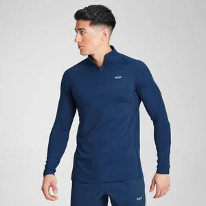 MP Men's Velocity 1/4 Zip- Dark Blue
