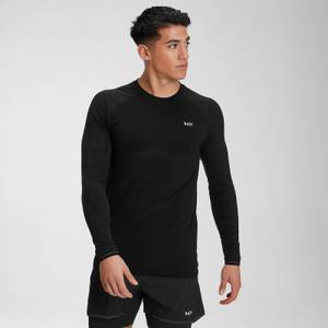 MP Men's Velocity Long Sleeve Top- Black