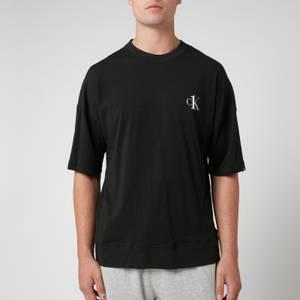 Calvin Klein Men's Jersey Crew Neck T-Shirt - Black