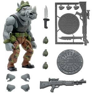 Super7 Tortues Ninja ULTIMATES ! Figurine - Rocksteady
