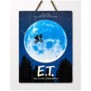 Doctor Collector E.T. The Extra Terrestrial WoodArts 3D Print