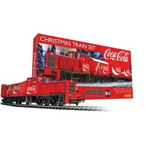 The Coca Cola Christmas Model Train Set
