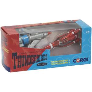 Thunderbirds TB1 and TB3 Model Set
