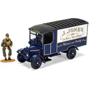 Dads Army TV Series J. Jones Thornycroft Van and Mr Jones Figure Model Set - Scale 1:50