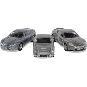 James Bond Aston Martin Collection (V12 Vanquish, DB5, DBS) Model Set