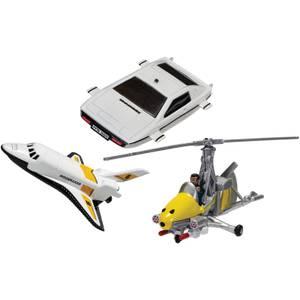 James Bond Collection (Space Shuttle, Little Nellie, Lotus Esprit) Model Set