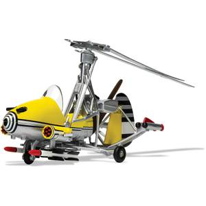 James Bond Gyrocopter Little Nellie, You Only Live Twice Model Set - Scale 1:36