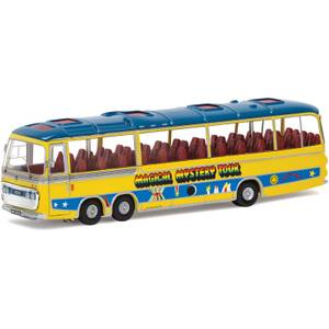 The Beatles Magical Mystery Tour Bus Model Set - Scale 1:76
