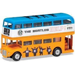The Beatles London Bus Help! Model Set - Scale 1:64