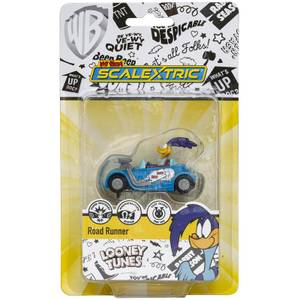 Micro Scalextric Looney Tunes Road Runner Car - Scale 1:64