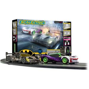 Scalextric Spark Plug Batman vs Joker Race Set