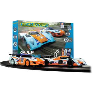Scalextric Gulf Racing (Team GT Gulf vs Team LMP Gulf) Race Set