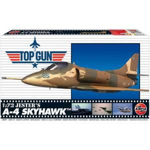 Top Gun Jester's A-4 Skyhawk Plastic Model Kit - Scale 1:72