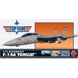 Top Gun Maverick's F-14A Tomcat Plastic Model Kit - Scale 1:72