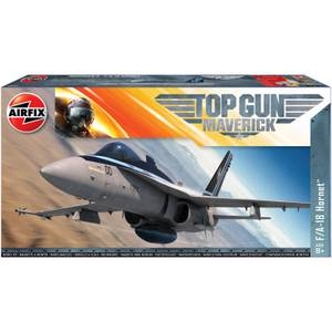 Top Gun Maverick's F-18 Hornet Plastic Model Kit - Scale 1:72