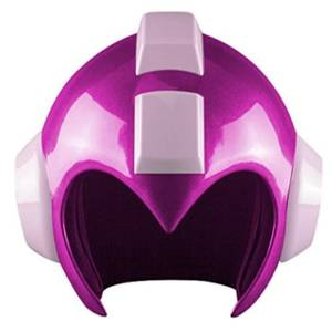 Capcom Mega Man Pink Quick Boomerang Wearable Helmet Prop Replica