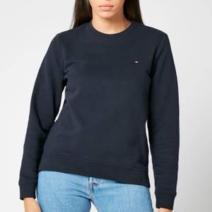 Tommy Hilfiger Women's Heritage Crew Neck Sweatshirt - Midnight